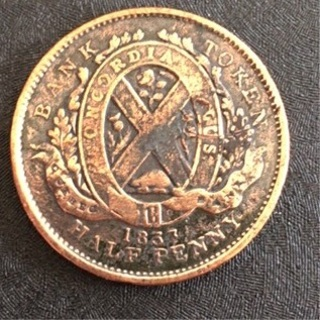 Canada 1833 coin