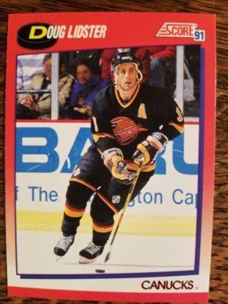 1991 Score hockey card.