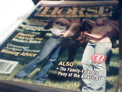 3- horse magazines