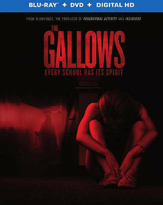 2015 The Gallows HORROR (Blu-ray, dvd, digital & slip cover Movie Disc)-New & Sealed-Rated R