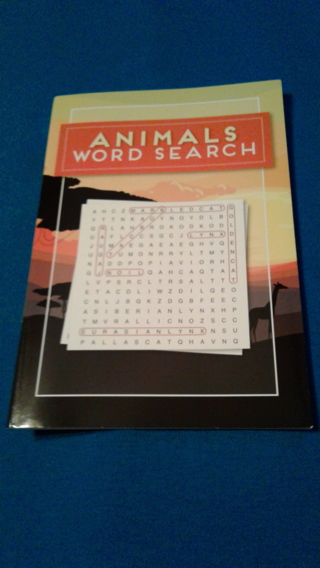 Animals Word Search Book
