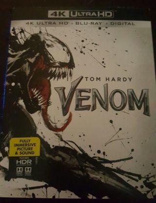 Venom 4k uhd digital code movies anywhere