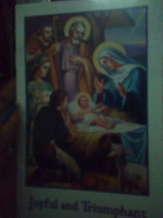 Religious Poem Book
