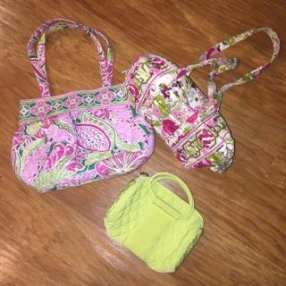 Vera Bradley purse Handbag Lot Floral! Pretty!