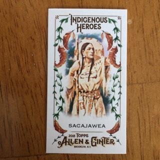 2018 Topps Allen & Ginter's - Indigenous Heroes Minis #MIH-13 Sacajawea