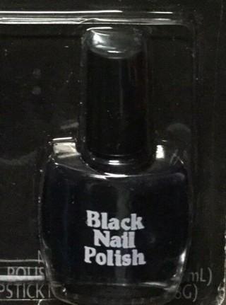 Fun World Halloween Black Nail olor Polish-New-GIN BONUS-Glow in the Dark Polish!!
