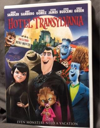 Hotel Transylvania 1 DVD