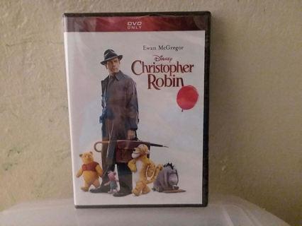 NEW DISNEY Christopher Robin DVD