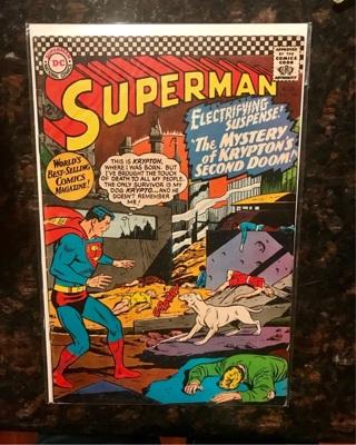 Superman #189 12cent Cover Silver Age