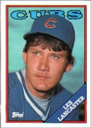 Free Classic 1988 Topps 112 Les Lancaster Rc Rookie Card