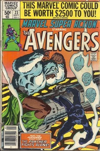 (CB-6) 1980 Marvel Comic Book: Marvel super Action #23