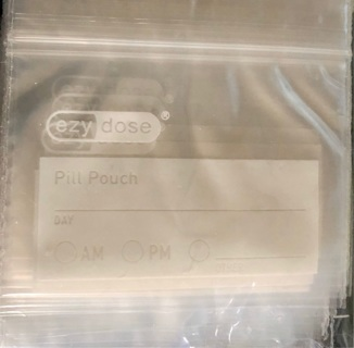 """21 BN: 3"""" x 2"""" Clear, Waterproof, Reclosable, 2 mil, Zipper Bags! Multiple Uses: Meds/Office/etc"""