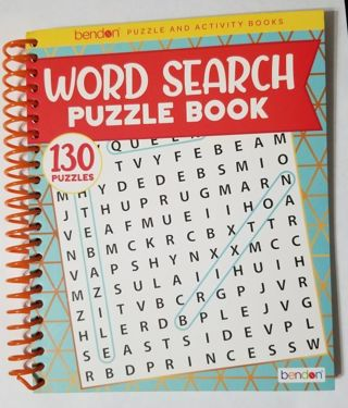 Word Search Puzzle Book with 130 Puzzles