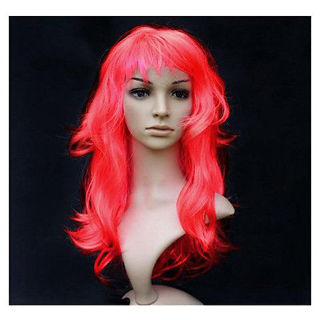 Beautiful Cherry Red Wig