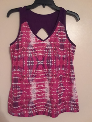 """Ladies active top by """"Xersion""""  Size Large."""