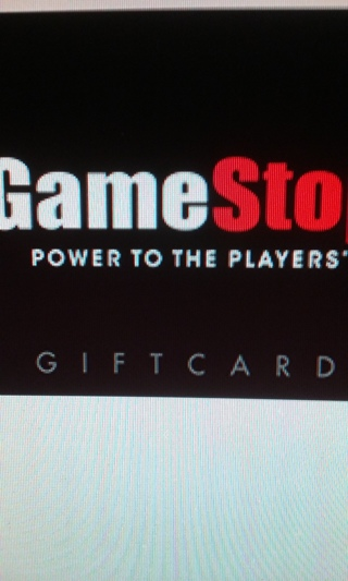 JUST IN TIME FOR X-MAS $25. GAMESTOP E-CARD
