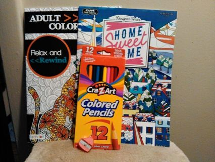 ADULT COLORING BOOKS=FREE SHIPPING & TRACKING