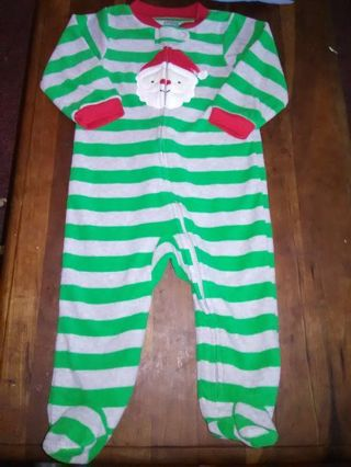 NWOT Infant Boys Holiday Footed Sleeper