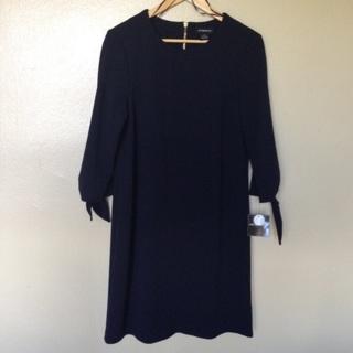 NWTs Liz Claiborne Navy Dress, Size 10