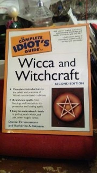 the complete idiots guide to wicca and witchcraft