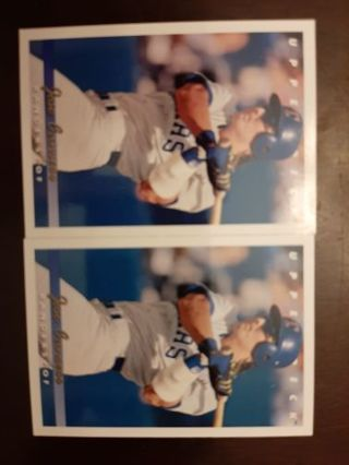 (2) 1993 Upper Deck Jose Canseco