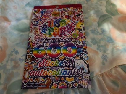 New Book Of Lisa Frank Stickers
