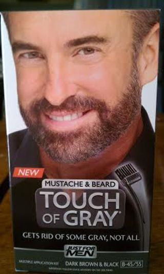 Free: Just For Men: Touch of Gray Mustache and Beard Dye - Hair ...