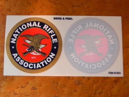 NRA National Rifle Association Car Window Transfer Sticker - FREE Shipping!