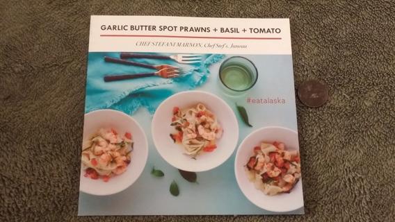 Free: ALASKAN RECIPES: Garlic Butter Spot Prawns & Basil ...