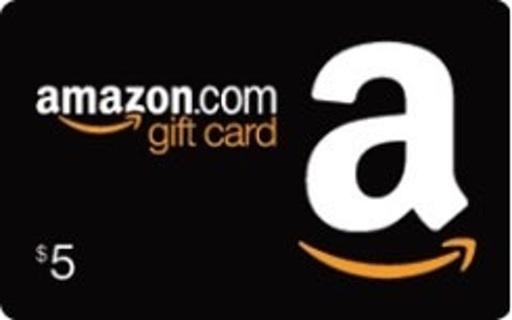 5$ amazon gift card