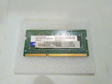 1GB RAM ADATA PC3 DDR3 1RX8 for Laptop