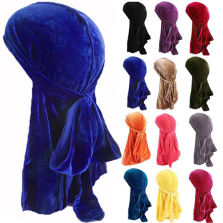 2020 Unisex Men Women Velvet Breathable Bandana Hat x1