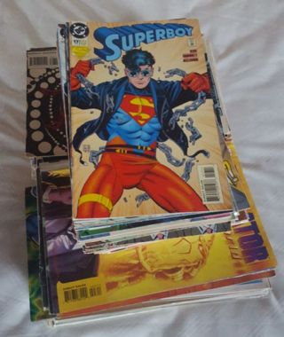 Lot of comics.