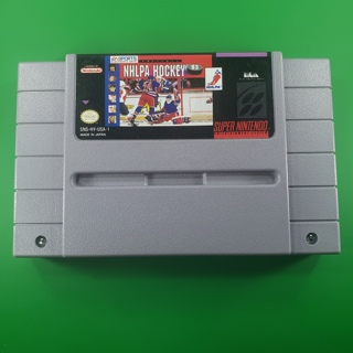 SNES Hockey Game