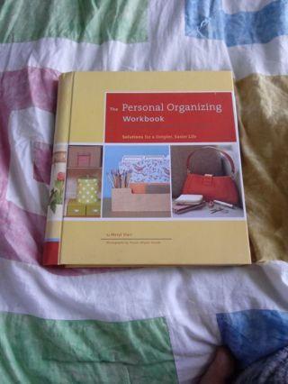 New Personal Organizing Workbook