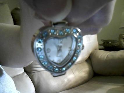 Supper Cute Blue Diamond Watch