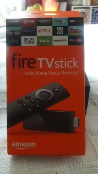 New n box Alexa fire stick