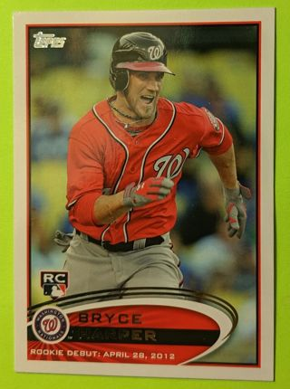 BRYCE HARPER ROOKIE CARD
