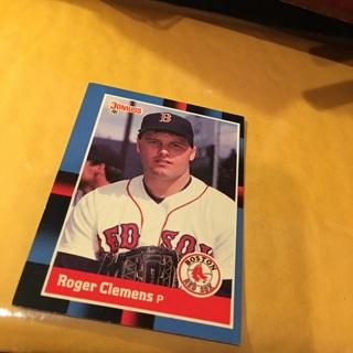 Free 1988 Donruss Roger Clemens Baseball Card Sports