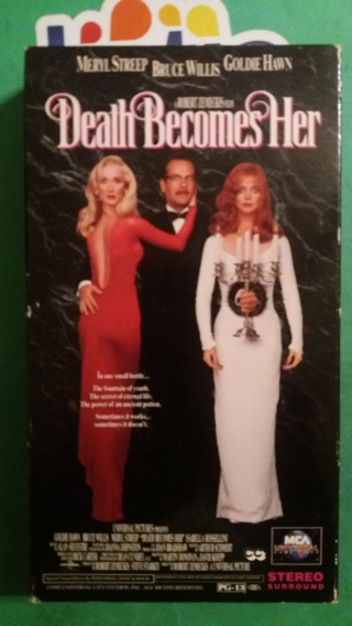 VHS  movie  death becomes her  free shipping