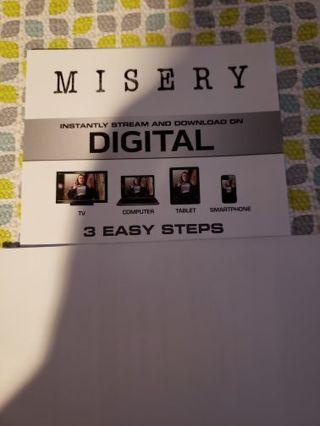Misery digital copy