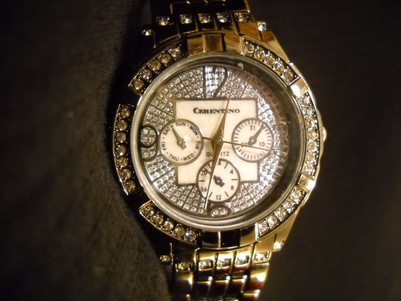 Free nice ladies chronograph boyfriend style bling watch for Nice watch for boyfriend