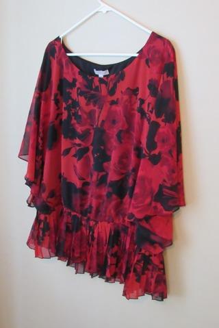 dressy blouse, size 3X