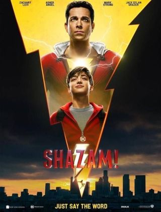 Shazam MA HD Digital Copy Code