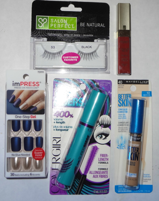 MAKE - UP and BEAUTY Lot : New Items, Sweet !