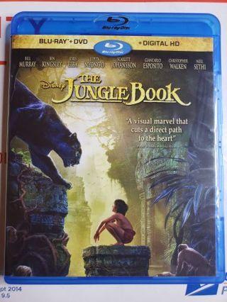The Jungle Book Blue-ray movie
