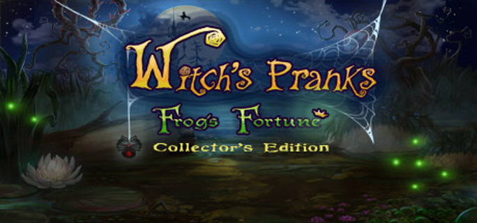 Witch's Pranks: Frog's Fortune Collector's Edition (Steam Key)