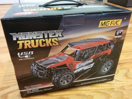 Brand New Remote Control RC Car Monster Truck 2.4GHz USB Charging