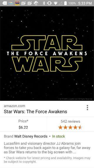 Star Wars the Force awakens HD Vudu ultraviolet code