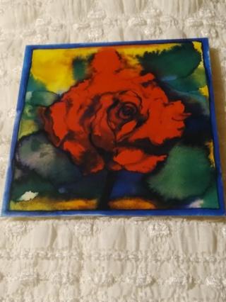 Large Floral Cards